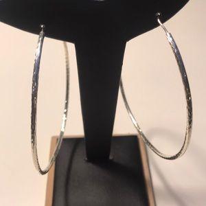 Earrings tube hoops